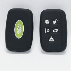 Чехол силиконовый (Черный) для ключа Range Rover, Land Rover