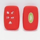 Чехол силиконовый (Красный) для ключа Range Rover, Land Rover