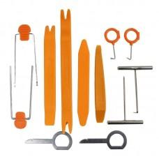 Набор инструментов съемников для снятия обшивки салона автомобиля 12 штук