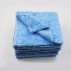 Микрофибровая салфетка, синяя, 380 г/м2, 40x40 см