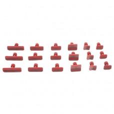 Грибки клеевые Красные набор сменных насадок PDR  Комплект 18шт