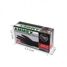 Перчатки нитриловые высокопрочные AMMEX L (100шт)